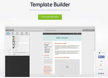 Build Template è una Web Application per Newsletter